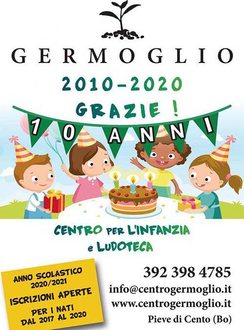 Il Centro Germoglio festeggia 10 anni !!!